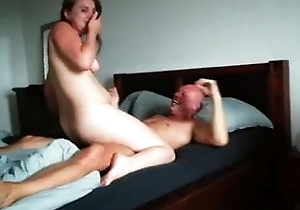 Dutch slutty wife smooches together at hand makes love at hand stranger