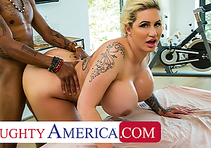 Inadequate America - Ryan Conner pulls widely masseuse's flannel