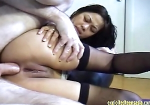 Exclusive Scene Stephanie Filipino Amateur Teen Pamper Alongside Her Second Anal Feature