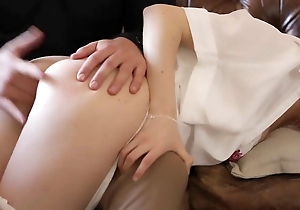 Spanked with an increment of pleasured
