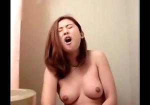 Handsome Singaporean Girl Masturbating in go out for b like