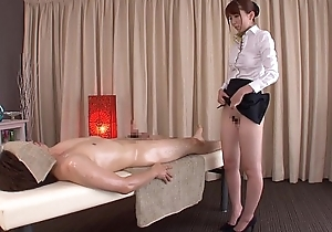 Subtitled traditional Japanese profound massage Yui Hatano