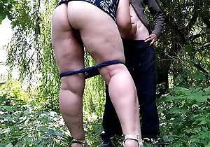 Gorgeous stranger cumswap outdoors with an increment of assisting me jizz