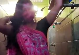 Desi randi get hitched Arpita nude in bathroom 1
