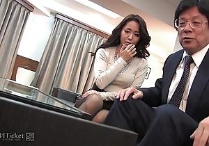 41Ticket - Japanese Mature Caught Fucking Stepbrother (Uncensored JAV)