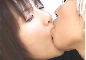Japanese Lesbian Schoolgirl Kissing Another Widely applicable in Drag