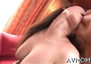Acquisitive pussy milf likes vibrators