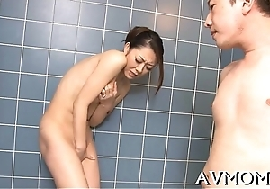 Sexy milf devours large cock