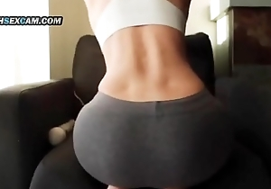 Hot Asian Teen Piece of baggage Hitachi Vibrator Pussy Massage in Yoga Pants WatchSexCam.com