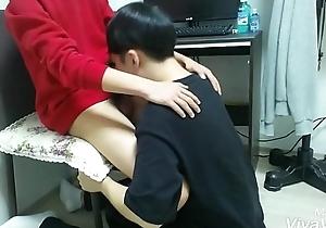 Korean sponger drag inflate his friend'_s detect 3