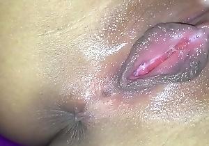 Young Asian slut fingers little wet pussy