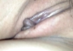 Show sleeping pussy of My wife