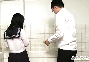 innocent school chick gives blowjobs and hand jobs for extra credit