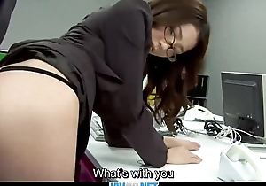 Subtitles - Queen fucked her japanese secretary Ibuki
