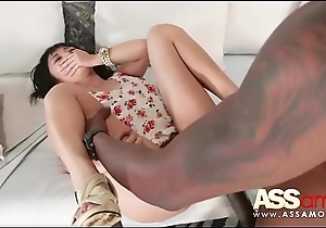 Sweet Japanese Non-specific Takes Black Cock Up The Ass