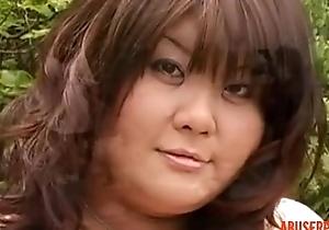 Asian BBW: Unconforming Big Boobs &amp_ Asian Porn Film over e1 - abuserporn.com