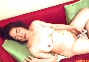 Untrained Asian MILF Use 3 Toys, Free Adult Porn Video f1 - abuserporn.com